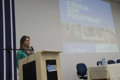 Coordenadora do CSF na UFLA, professora Ana Carolina Barbosa