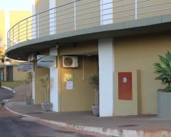 O Ambulatório está situado no Pavilhão IV (Nave 1)