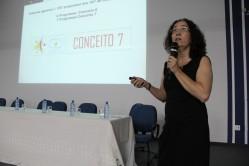 Professora Fátima Moreira apresenta o programa de Pós-Graduação em Ciência do Solo, conceito 7 na Capes