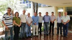 Equipe da UFLA visita a Cooxupé - maior cooperativa de café do mundo