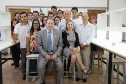 Visita ao Departamento de Engenharia, com a equipe do Núcleo de Estudos em Pós-Café