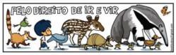 O cartunista Armandinho é voluntário neste movimento, fazendo sucesso em diversas tirinhas sobre a temática