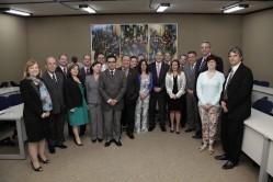 O encontro reúne dirigentes de 13 instituições públicas de ensino do Estado.