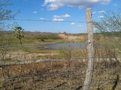 Foto tirada durante a viagem precursora, ra região de Ibaretama
