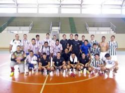Da esquerda para a direita, os times Zona Leste, PLFC e Paraíba.