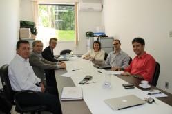 Delegação da Bélgica em reunião na DRI - possibilidades de ampliar as parcerias