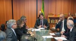Ministro da Educação - Cid Gomes - recebe representantes da Andifes no MEC (foto - Andifes)
