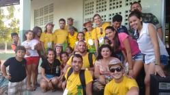 Equipe da UFLA em atividade na operação Mandacaru - vivência e solidariedade