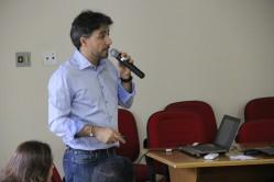 Diretor de Relações Internacionais, professor Antônio Chalfun, apresneta procedimentos e programa de apoio à permanência