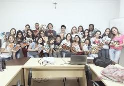 Estudantes do Nemp fazem campanha de incentivo à leitura