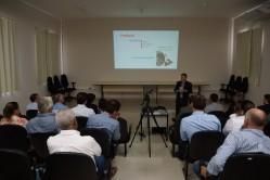 Diretor da Inovafé, professor Luiz Gonzaga, destaca benefícios do modelo em tríplice hélice