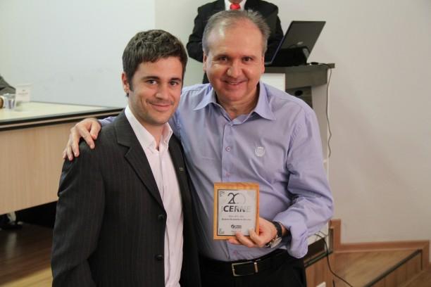Professor Antônio Donizette de Oliveira, editor da Cerne por 12 anos e incentivador de sua evolução
