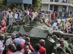 Golpe de Estado no Burundi (Foto: AP Photo/Berthier Mugiraneza)
