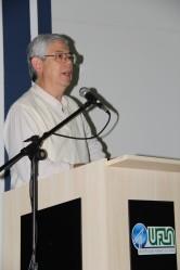 Na palestra de abertura, o consultor Edson Fujita destacou a motivação como uma dos requisitos para o sucesso