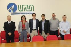 Em reunião na UFLA, o cônsul destacou a relevância das parcerias interinstitucionais