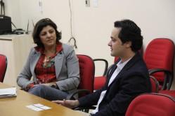A visita foi uma honra para a Universidade, que tem a inovação como um de seus assuntos prioritários
