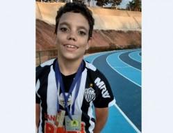 Atleta do Cria Lavras supera Síndrome de Lenox Gasteaut com a prática de esportes – Duas medalhas na primeira competição