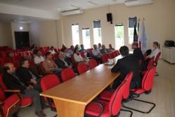 coordenadores de programas de pós-graduação interessados na parceria com a França fizeram a explanação de suas linhas prioritárias de pesquisa e demandas de cooperação