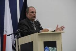 Para o reitor, prof. José Roberto Scolforo, sediar a cerimônia foi uma honra para a Universidade