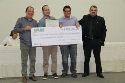 Vencedora na categoria Setores e Departamentos, Departamento de Direito fez jus ao prêmio de R$100.000,00 (cem mil reais)
