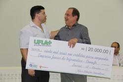 Empresa Júnior de Informática – Comp Júnior receberá o prêmio de R$20.000,00 (Vinte mil reais), ambos em créditos para empenho, conforme legislação vigente e normas operacionais previstas no Edital.