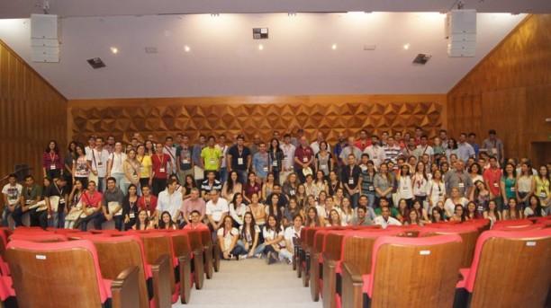 Participantes do II CBCTEM reúne estudiosos na UFMG - delegação da UFLA foi a maior no evento