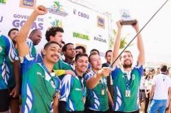 Equipe de Rugby da UFLA comemora conquista no