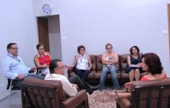 Em reunião, UFLA e Unifeg firmam parceira para produção de uma revista eletrônica