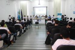 Cerimônia de abertura da Semana de Tecnologia da Informação realizada na UFLA