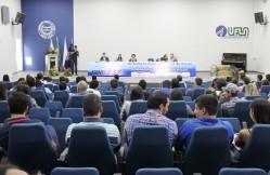 Abertura oficial do evento que agregou profissionais nacionais e internacionais na UFLA
