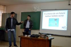 PET Administração na Escola Estadual Azarias Ribeiro.