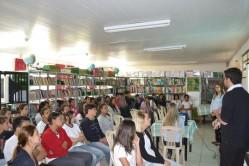 PET Administração na Escola Cinira de Carvalho.