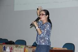 """""""A questão da violência perpassa por todas as pedagogias culturais"""", reforçou a professora."""
