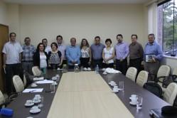 Reunião na UFLA debate criação a criação de um curso de Mestrado em Medicina, por meio da associação das três instituições: UFLA, Unifal e UFSJ