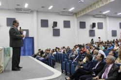 """professor Mohamed Habib proferiu a palestra de abertura """"Contribuições da universidade para o desenvolvimento sustentável"""""""