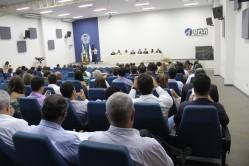 Cerimônia realizada no Salão de Convenções, para homenagear as diferentes gerações que fizeram parte dessa história