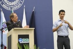 Professor Scolforo enalteceu o DAG como um dos departamentos protagonistas da Instituição