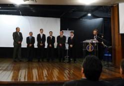 Cerimônia da Sociedade Mineira de Engenheiros Florestais (Smef) e das entidades de classe do Conselho Regional de Engenharia (Crea – Mg), em Belo Horizonte.