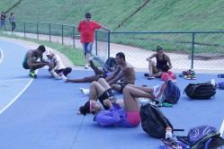 Técnico e atletas aprovaram toda a estrutura disponível na instituição