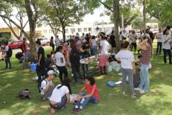 Os participantes prepararam cartazes e participaram de rodas de conversas para discussão do tema
