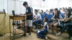 Atividade interativa atrai a atenção de estudantes