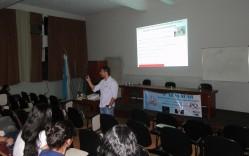 A Semana de Química contribui para a formação complementar dos estudantes