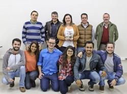 Equipe Dvidir, vencedora do Startup CIM