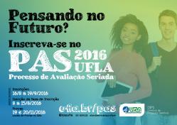 Processo de Avaliação Seriada (PAS 2016): período de inscrições vai de 16/8 a 19/9