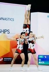 O Trio, formado por José Henrique Oliveira, Maelton Siqueira e Marcelo Martins, foi o 20° colocado na competição