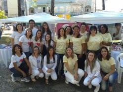 Equipe da UFLA em ação educativa durante a SMAM em 2015