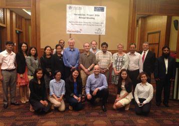 Reunião anual do Projeto HarvestZinc, ocorrida em agosto de 2016 na cidade de Chiang Mai, Tailândia. Professor Luiz Roberto apresentou resultados do projeto desenvolvido no Brasil.