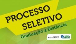 Inscrições abertas para Processo Seletivo de graduação a distância