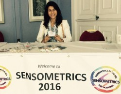 Doutoranda da UFLA é premiada em conferência na Inglaterra na área de sensometria