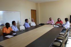 reunião com representantes da organização Fraternidade Sem Fronteiras, para apresentação da iniciativa